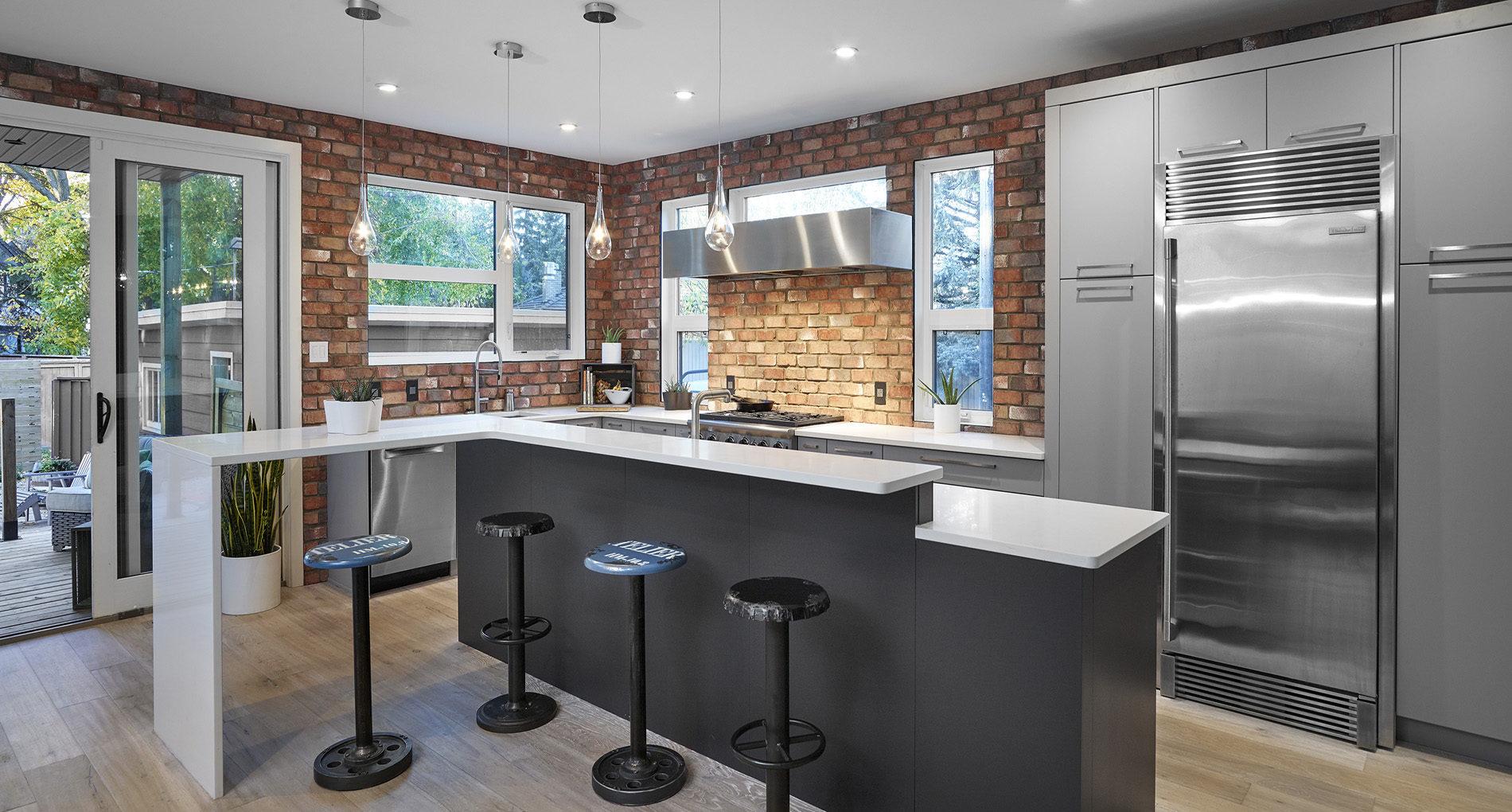 Kitchen Renovation North Island Bell Slider