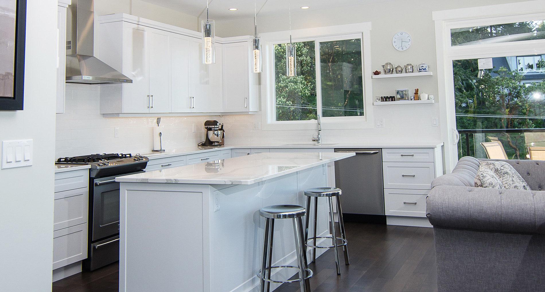 Kitchen Renovation North Island Demel Slider