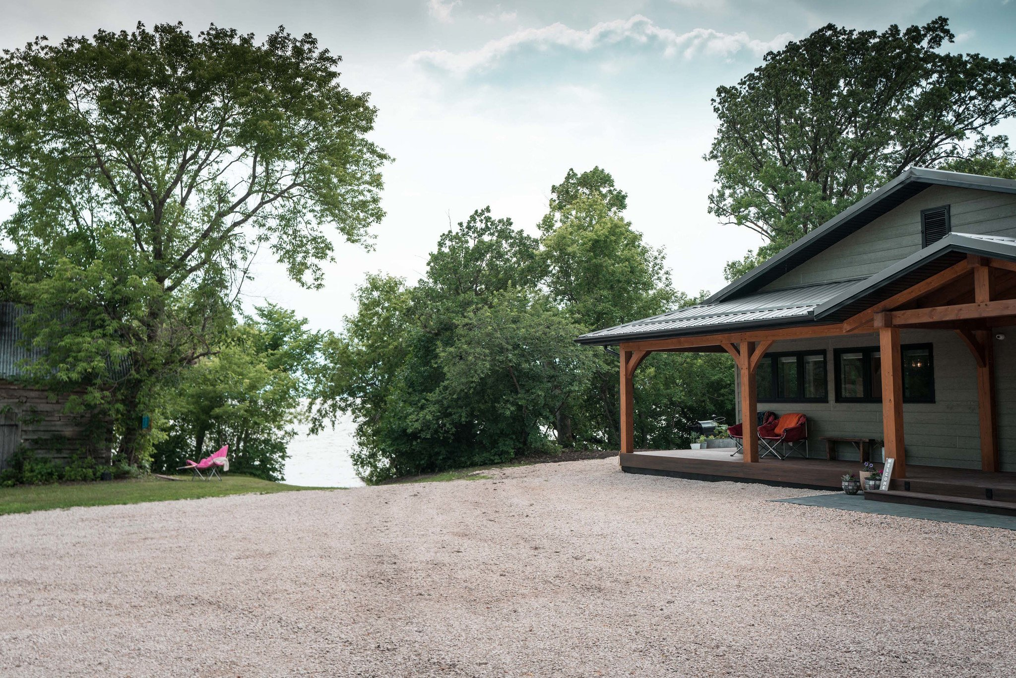 Custom Home Taking Advantage of Winnipeg Land