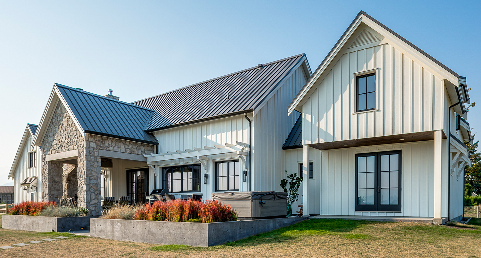Country Farmhouse Custom Home