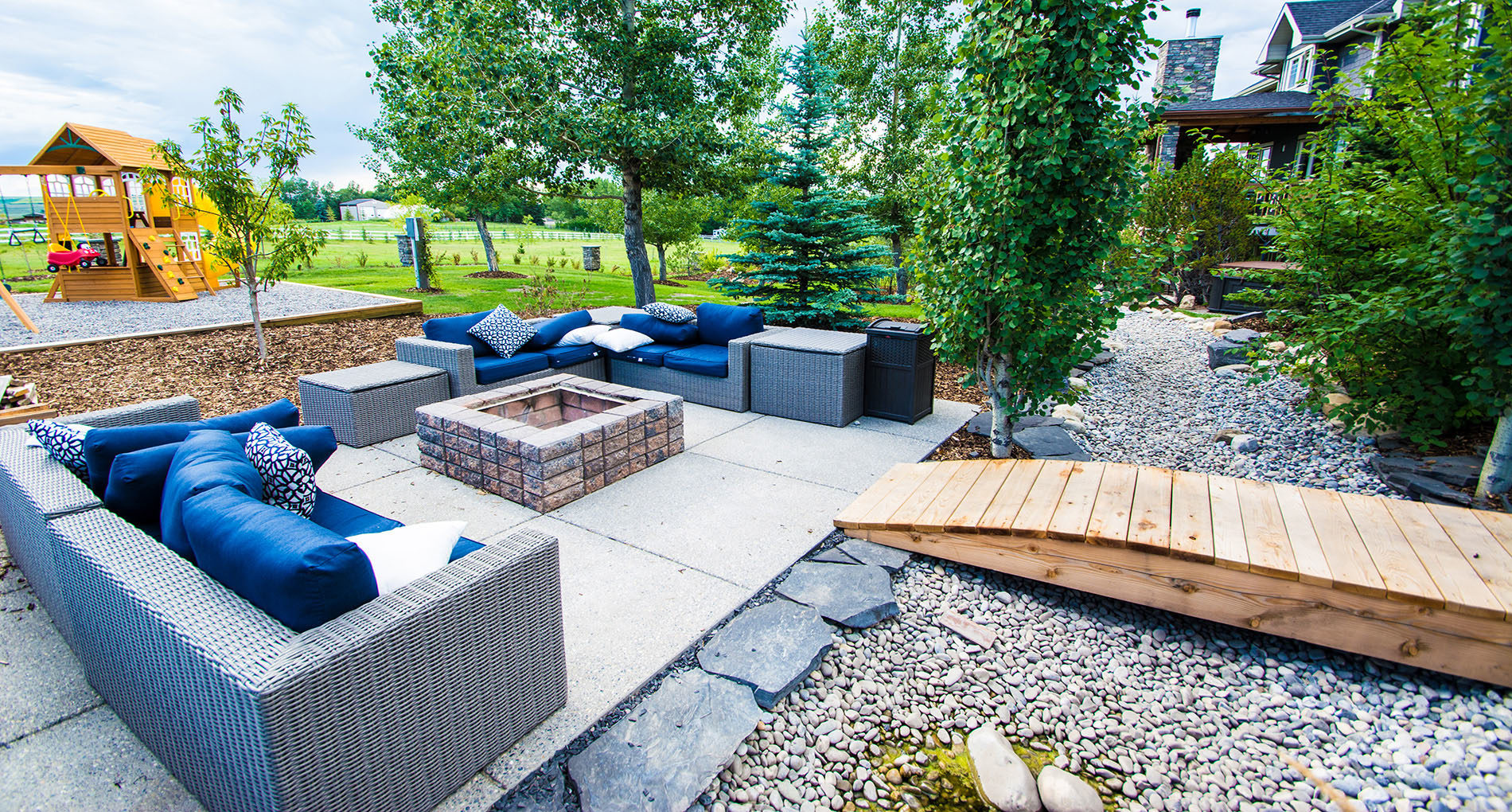 Outdoor Living Space Calgary Tennis Slider1