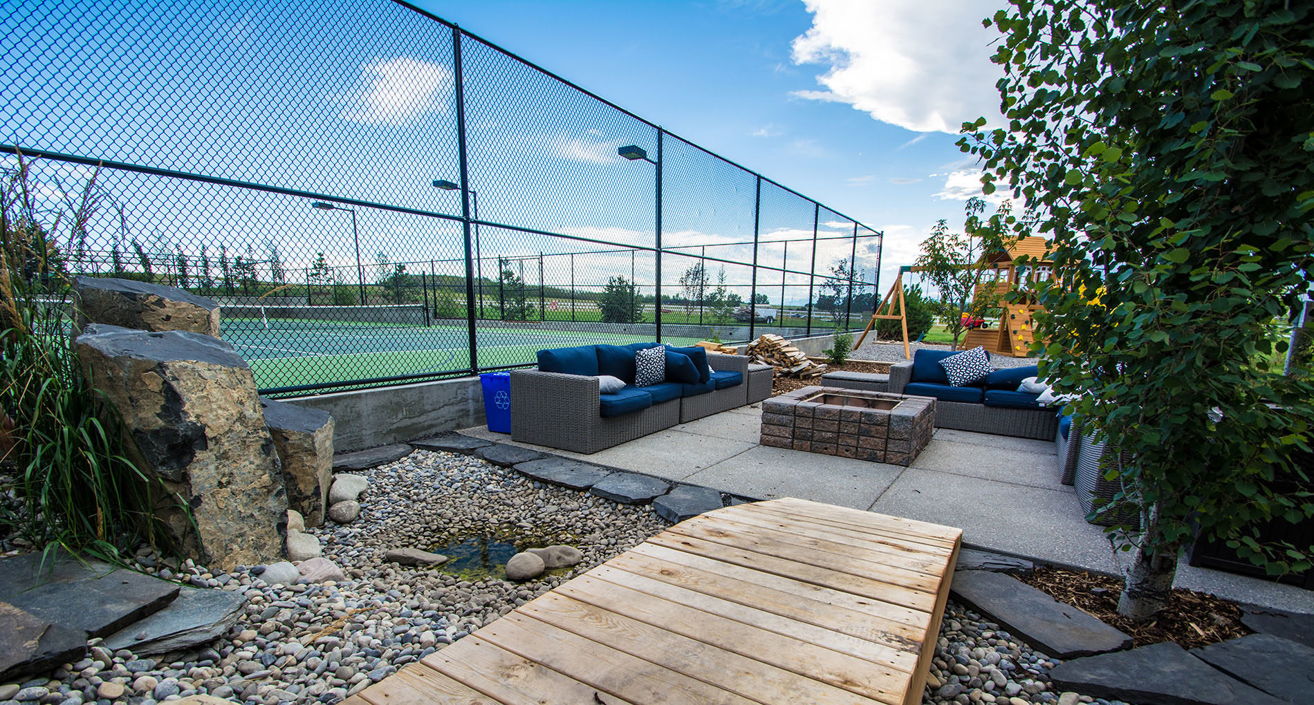 Outdoor Living Space Calgary Tennis Slider2