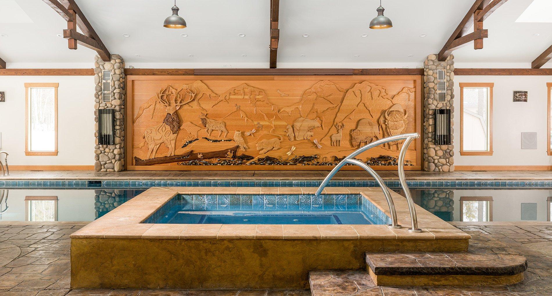 Custom Poolhouse
