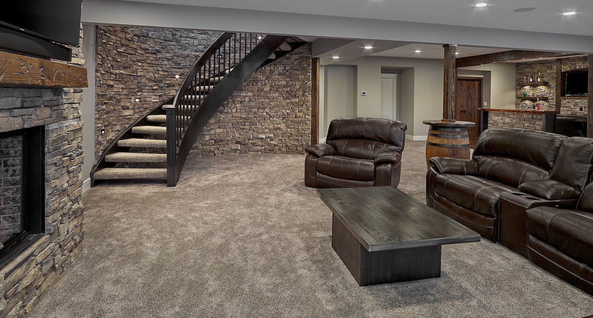 Basement Renovation Oakville Scondale Slider
