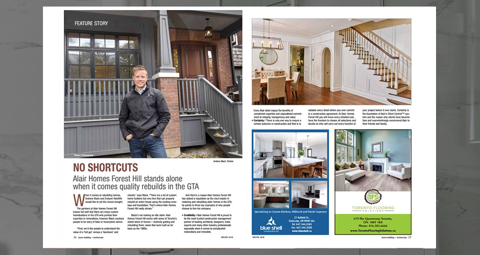 alair-homes-forest-hill-toronto-GBA-Article