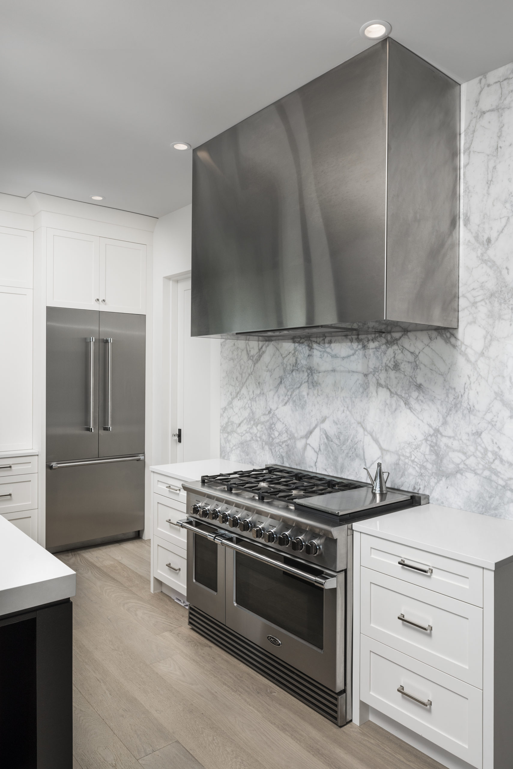 marble kitchen backsplash