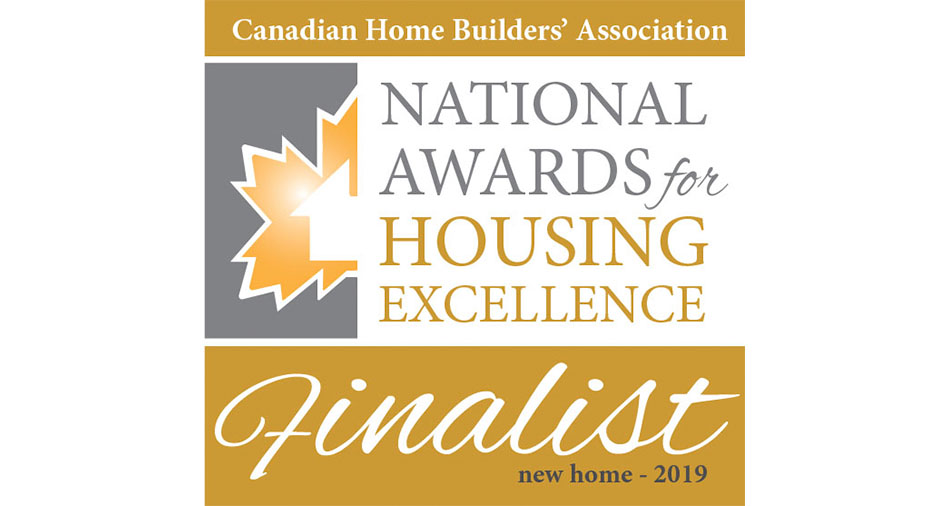 CHBA National Awards for Housing Excellence Finalist 2019
