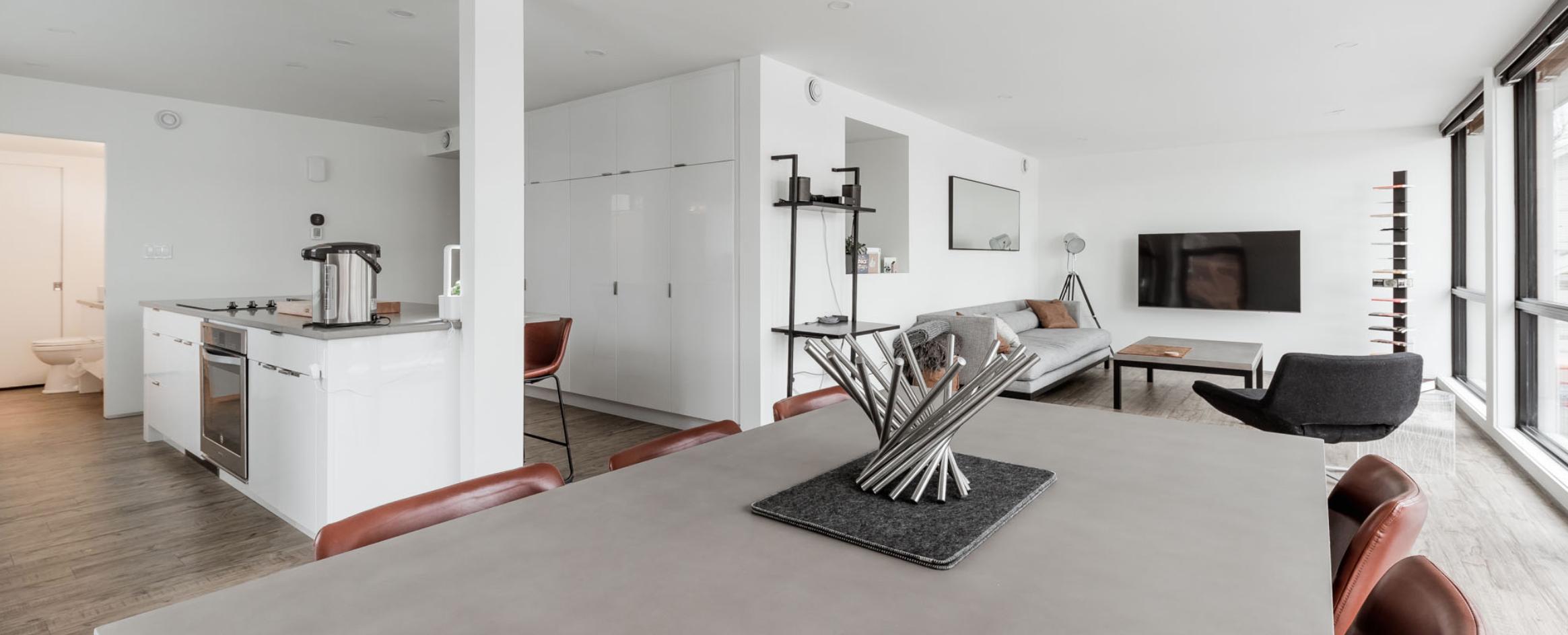 Interior modular home