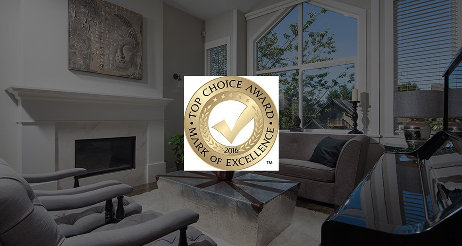 TOP CHOICE AWARDS 2016 Top Home Builder in Vancouver