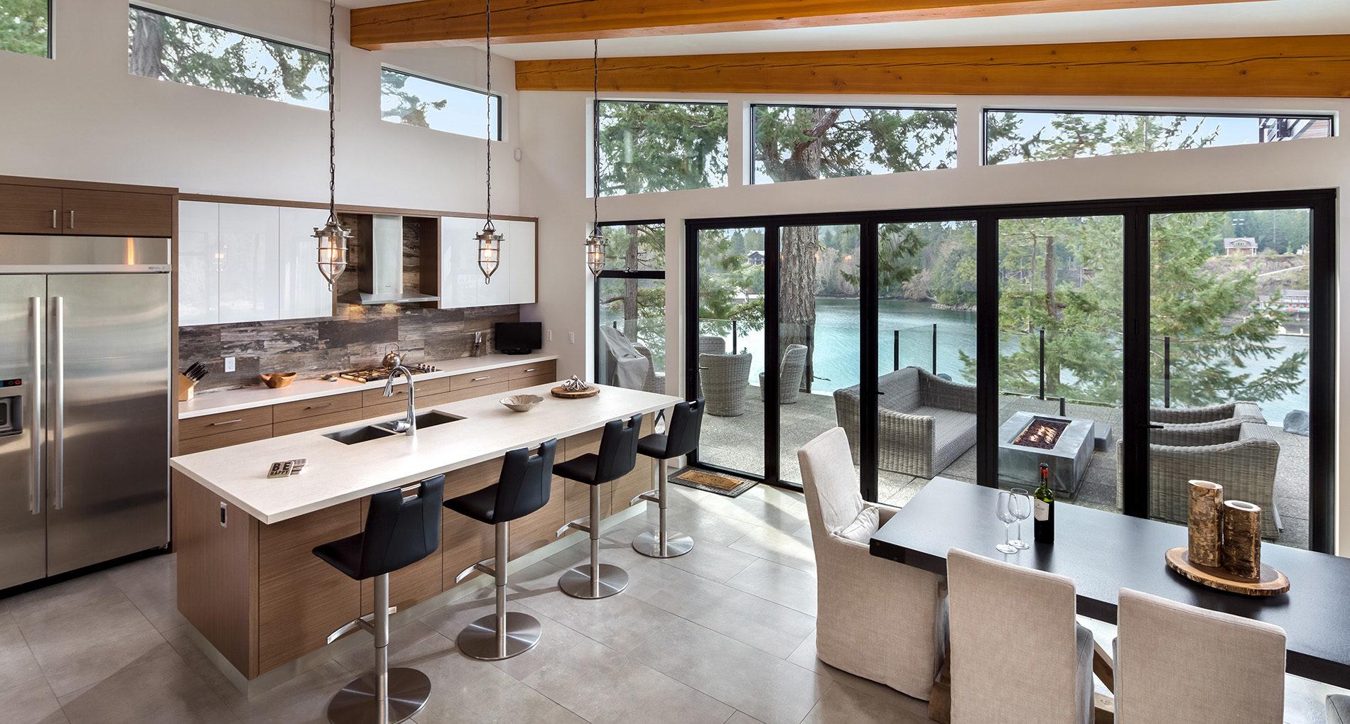 Custom Home Westtoronto Cliffhouse Slider