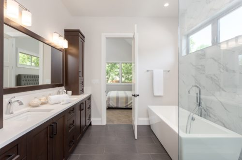 10 Design Ideas to Make Your Springwater Custom Bathroom Easier to Clean