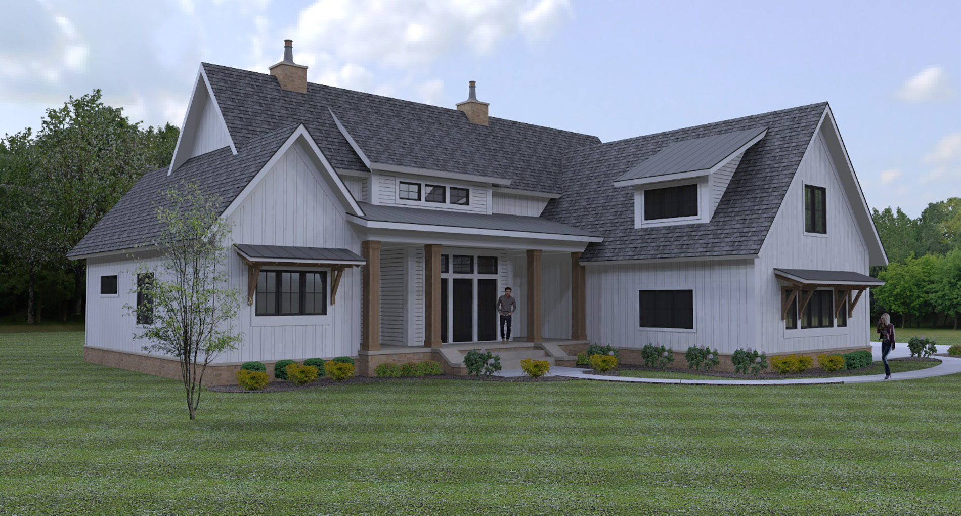 Custom Home Hudson Foster Renderings1