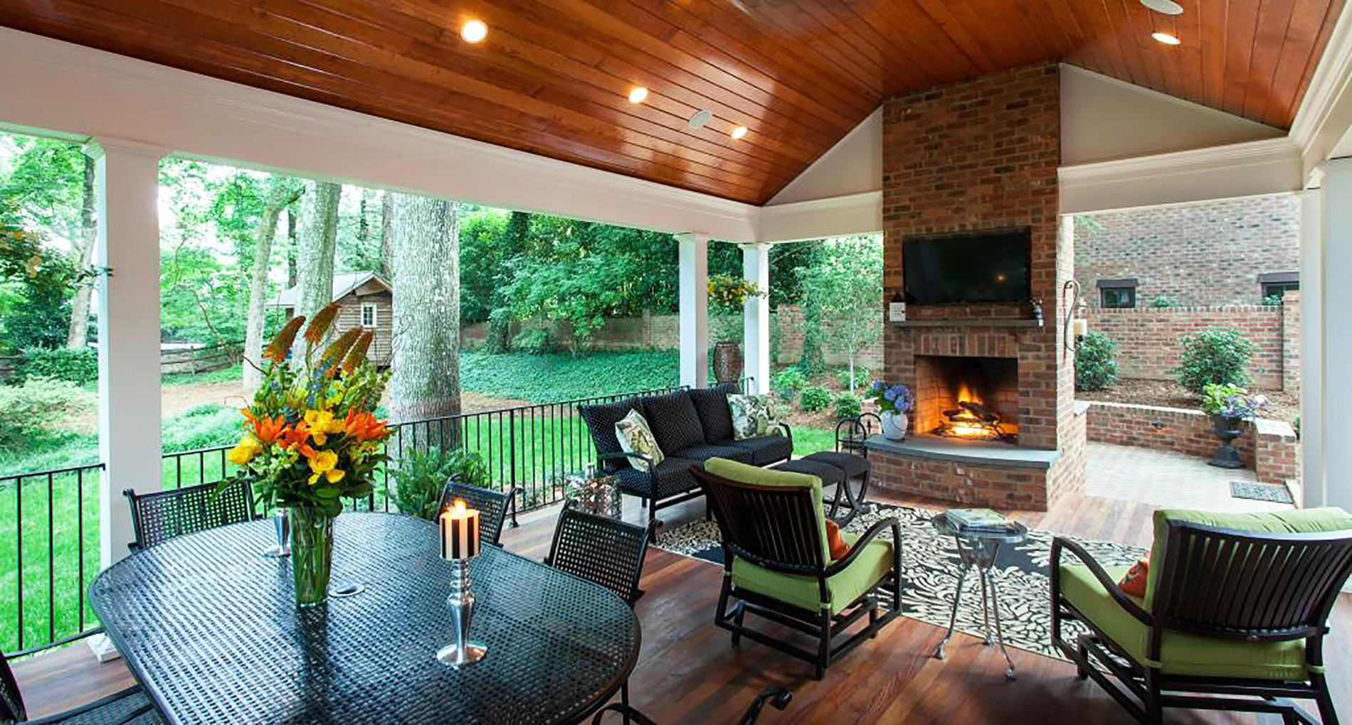 Forest Drive Covered Porch Renovation