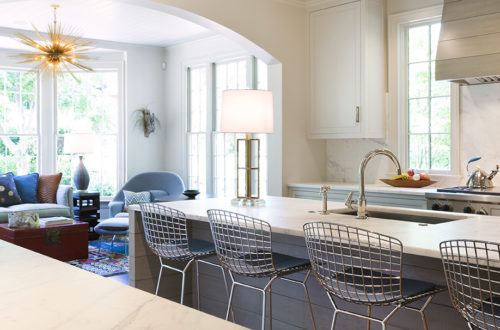 Three Ways to Bring Color into a White Kitchen