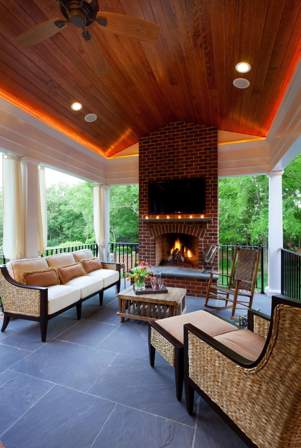 Shillington Outdoor Patio Renovation | Alair Homes Charlotte on Living Patio id=87956