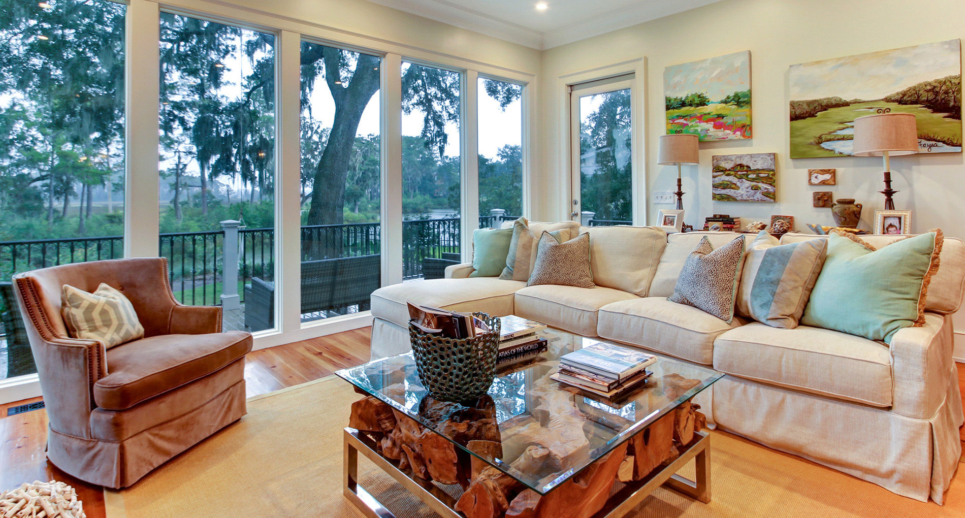 Custom Home Sanibel Charlestonstyle Slider