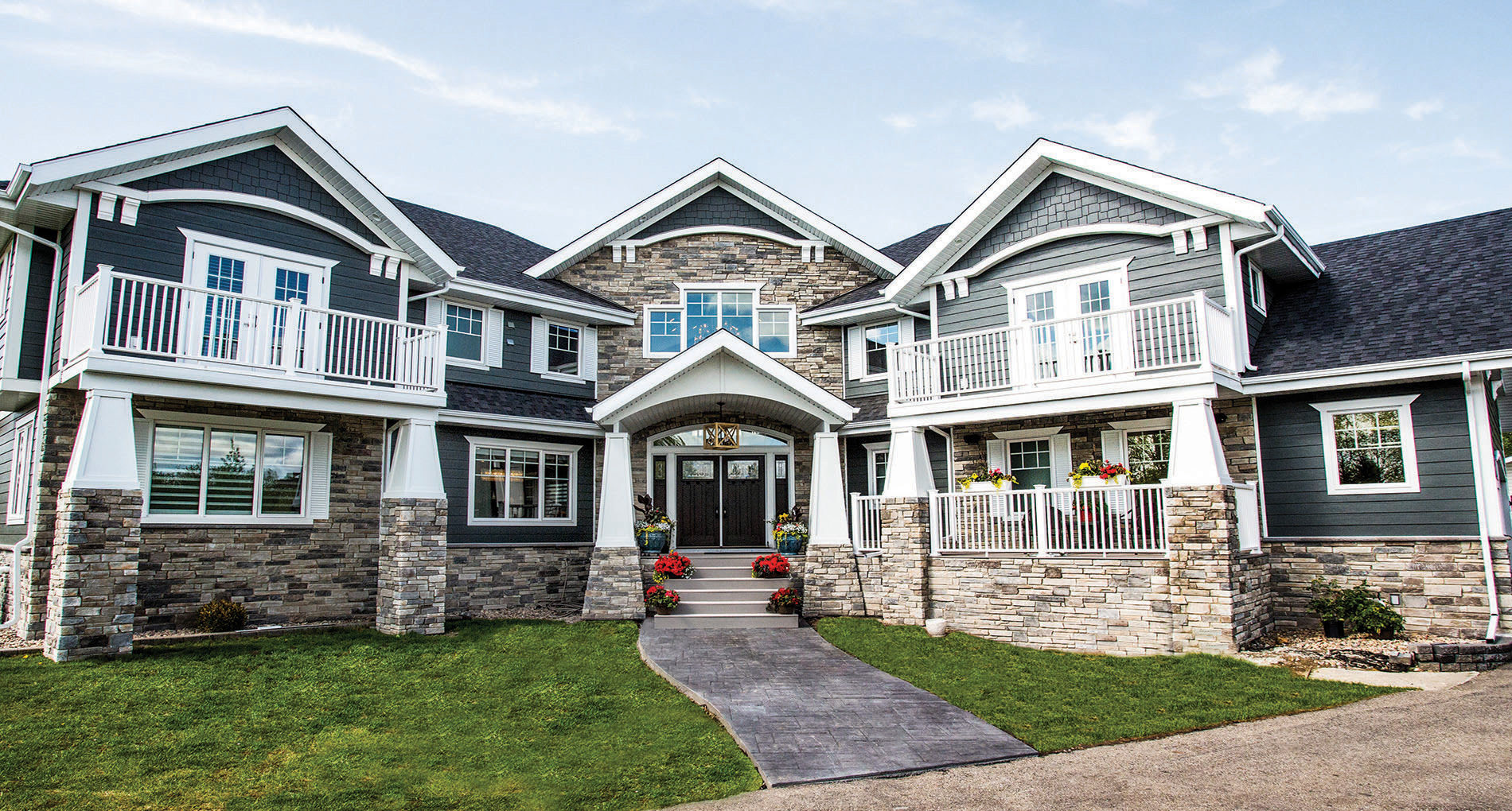 Custom Home Greensboro Sunhill Slider