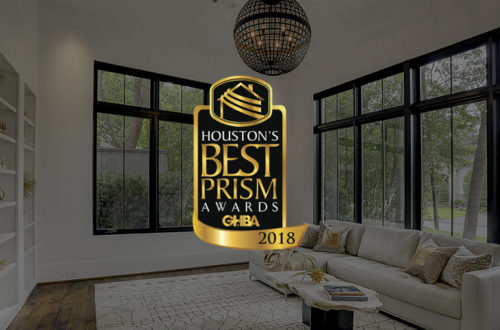 Alair Homes Houston Wins a 2018 GHBA Prism Award