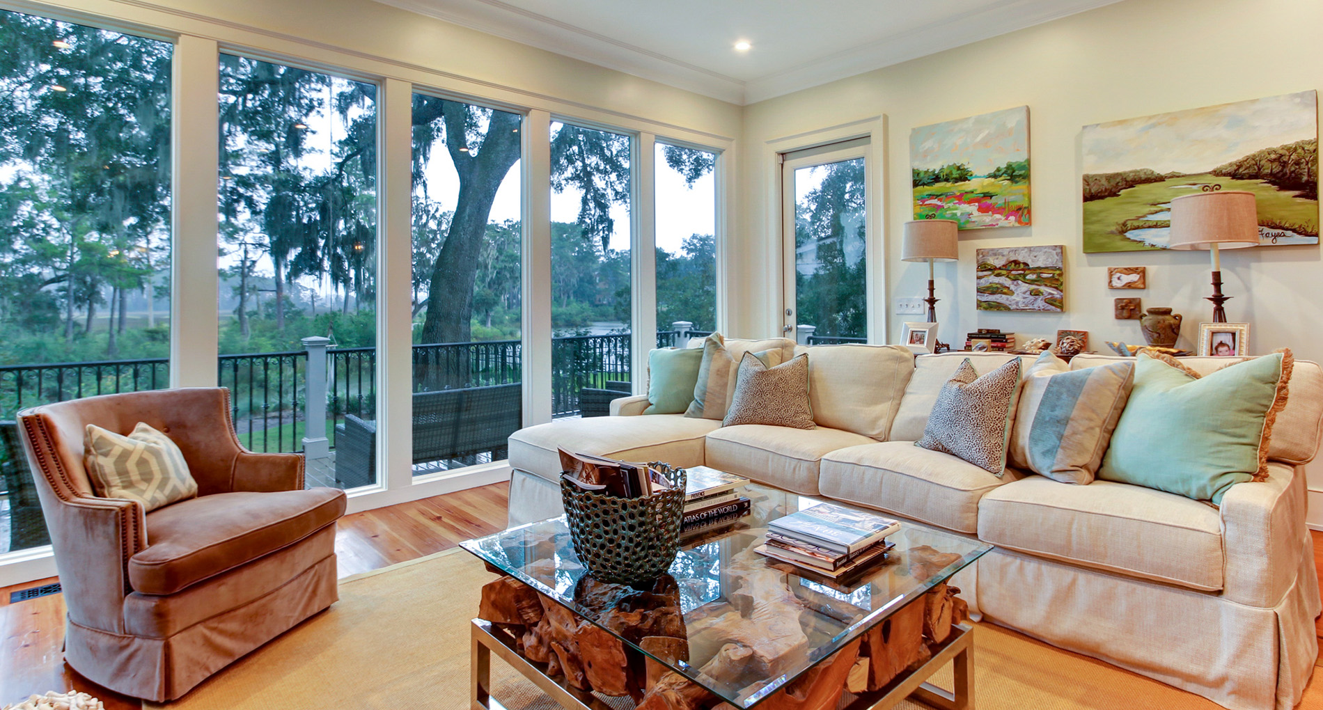 Charleston Style Custom Home