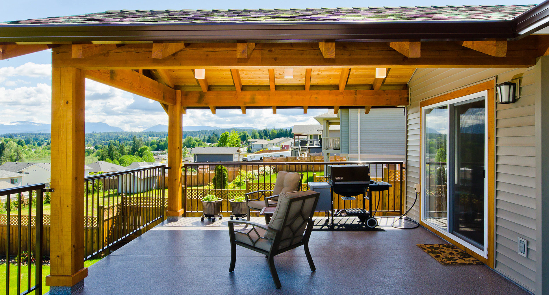 Outdoor Living Victoria Rajeena1782deck Slider