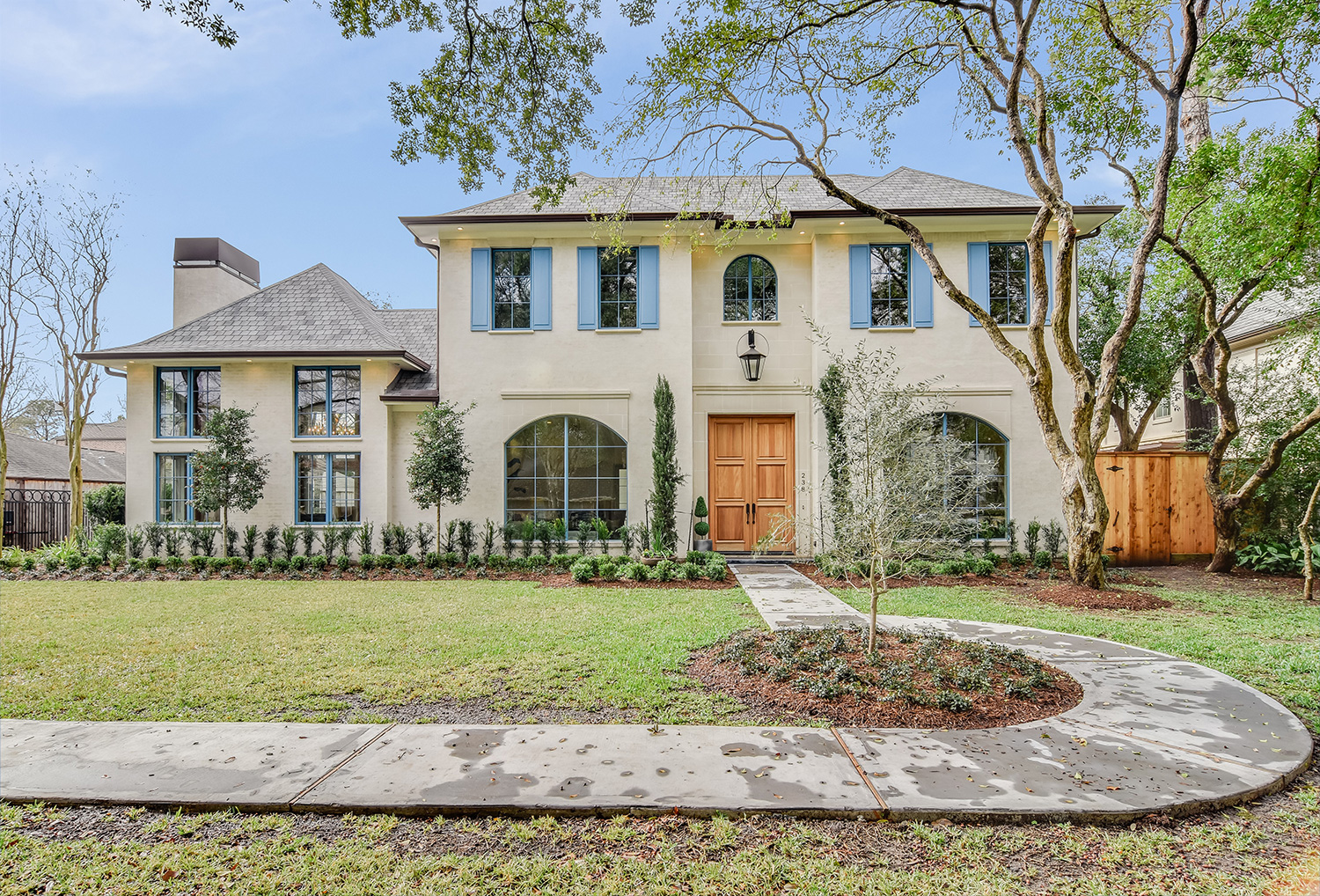 South Tampa, Contemporary Industrial Style Family Home