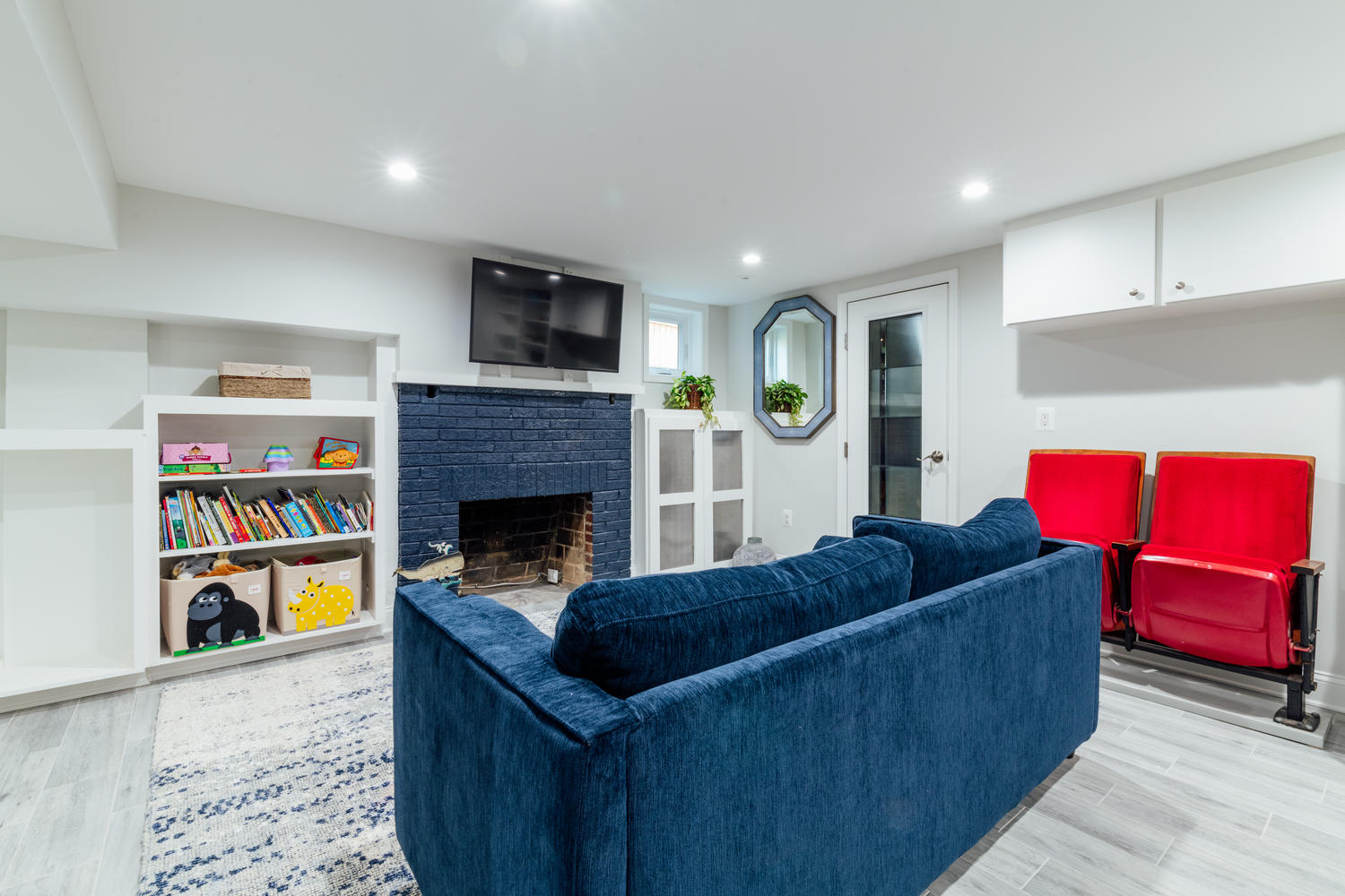 Small Space, Big Impact: Contractor of the Year Award for Basement Renovation