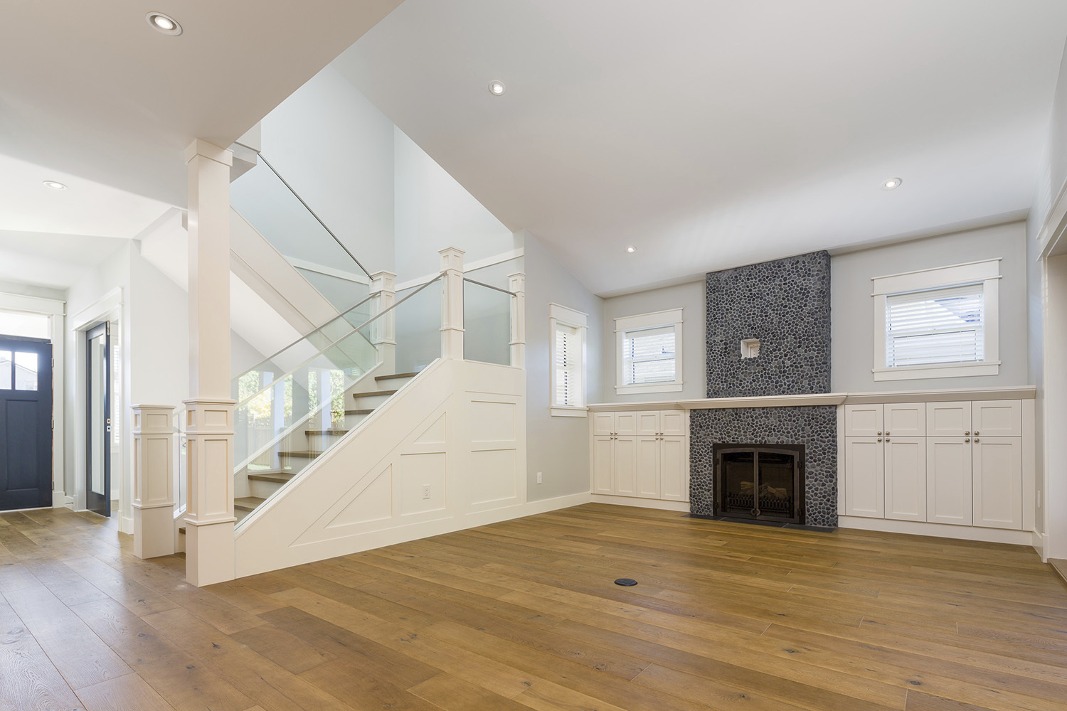Custom Built Solon Home with Fireplace