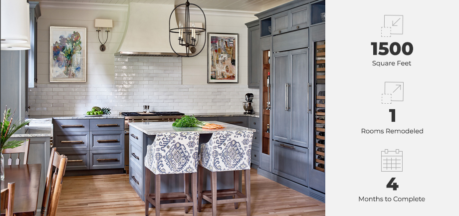 solon modern farmhouse kitchen remodel