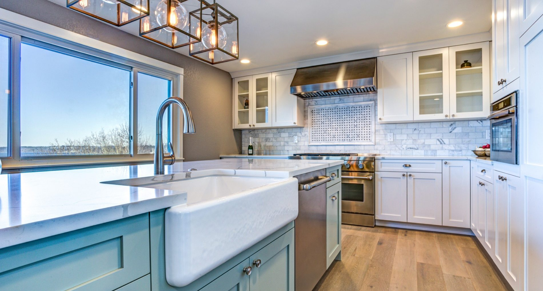 Bringing Blue into Your New Braunfels Kitchen