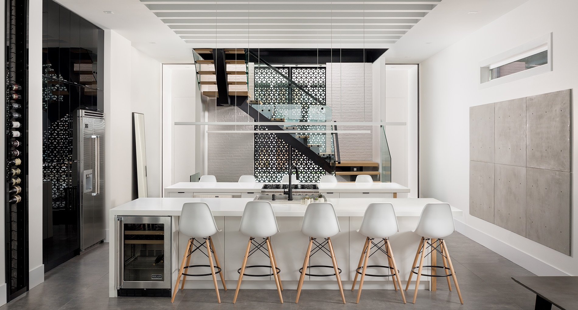 Modern Infill Bridgeland Custom Home