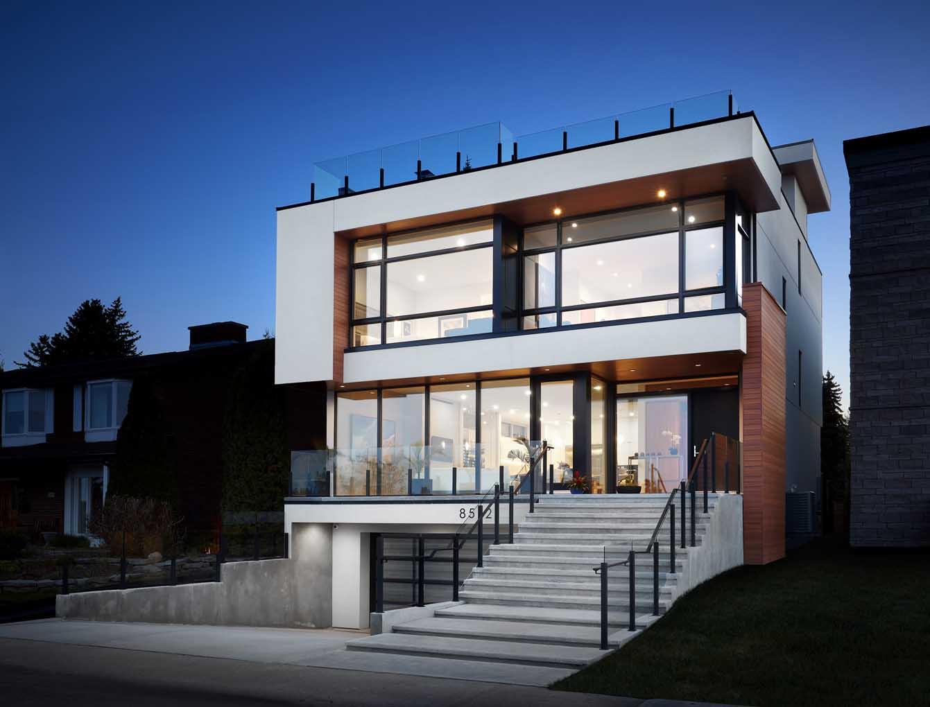 California Contemporary Custom Home
