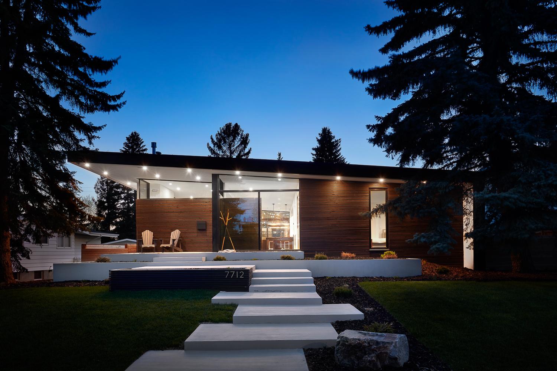 Floating Glass Custom Home
