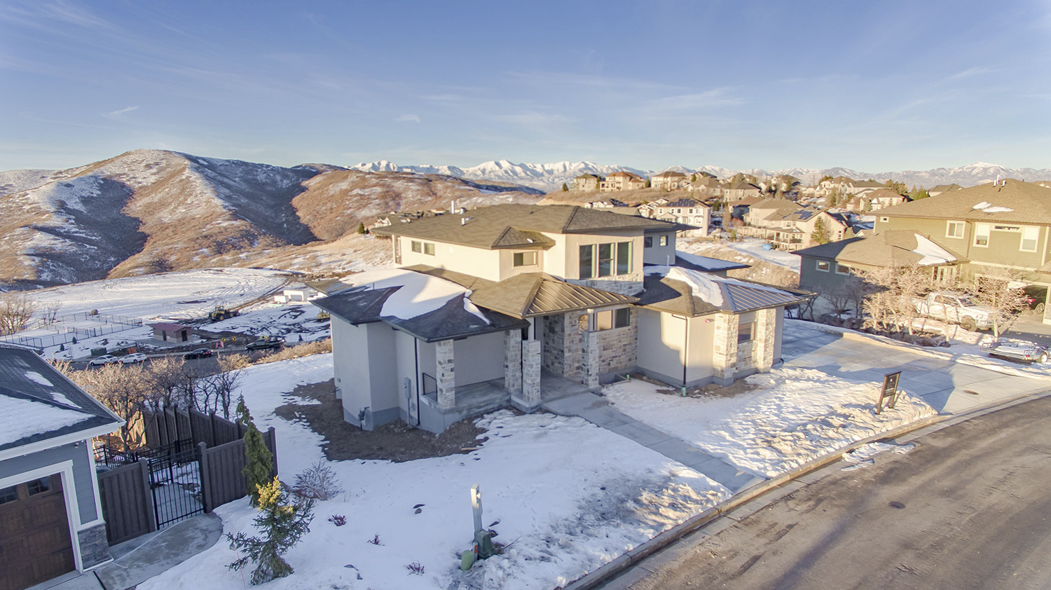 Salt Lake City Custom Built Home in Developed Neighborhood