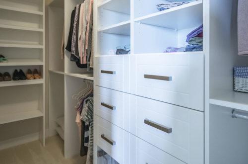 KonMari Closets for Your Custom Home